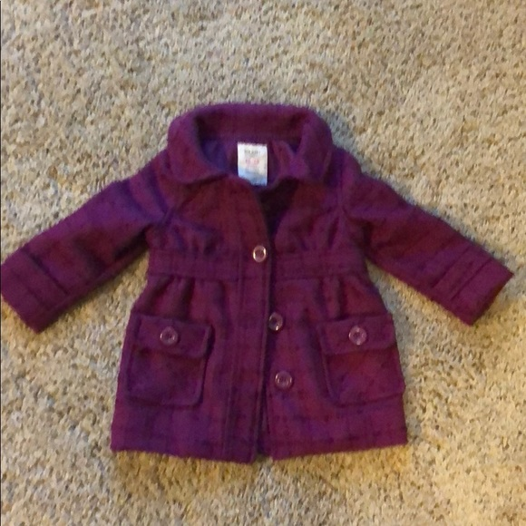 Old Navy Other - Old Navy Burgundy peacoat